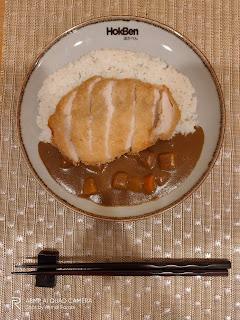 Mencicipi Kelezatan Tokyo Curry di HokBen