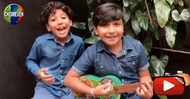 Dos niños del Táchira dedicaron esta canción a los Atletas Chaburros