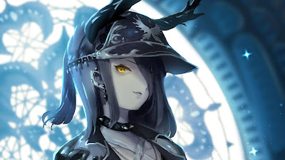 Dark anime girl wallpaper