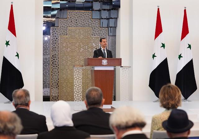 President Bashar al-Assad sworn in for 4th term in Syria
