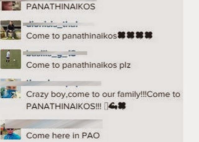 """""""Τρελό αγόρι, έλα στον Παναθηναϊκό"""""""