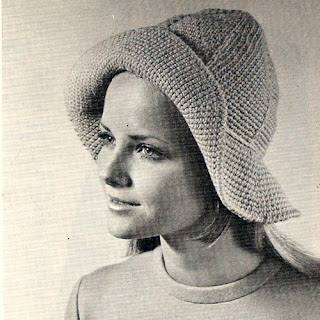 Vintage Floppy Hat Crochet Pattern