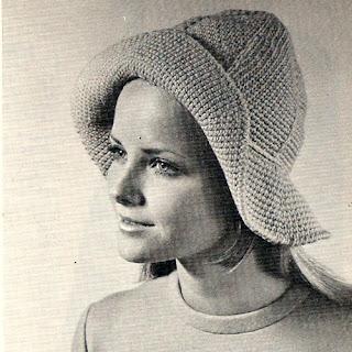 Vintage Floppy Hat Crochet Pattern