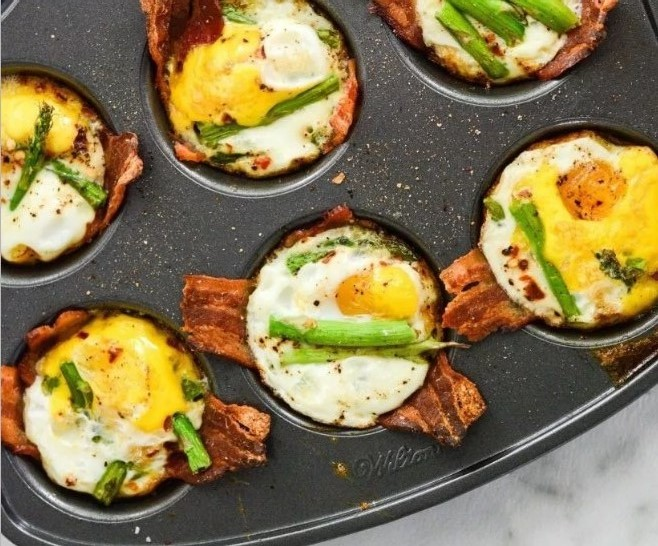 Paleo Egg Cups #lowcarb #breakfast
