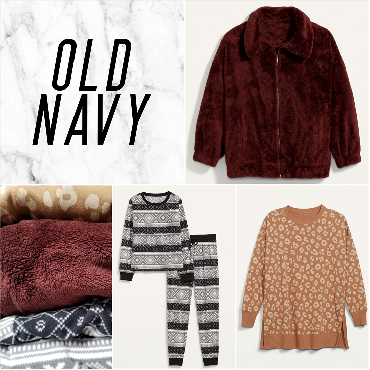 bblogger, bbloggers, bbloggerca, bbloggersca, lifestyle blog, old navy, torrid, h&m, hm, collective haul, winter 2021, shopping haul, clothing, plus size, plus sized blogger, sherpa jacket, fleece pajamas, leopard tunic, nightmare before christmas, underwear, sweatshorts, slippers, winter clothing