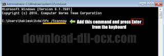 repair a0001734.dll by Resolve window system errors