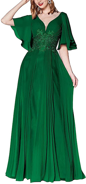 Beautiful Green Mother of The Bride Dresses