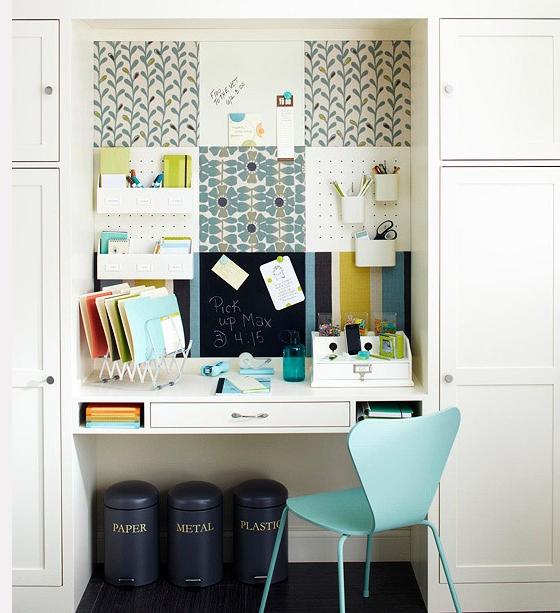 am nager un bureau chez soi. Black Bedroom Furniture Sets. Home Design Ideas