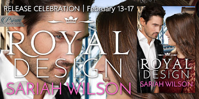 Release Celebration for Royal Design by Sariah Wilson! $25 Giveaway!