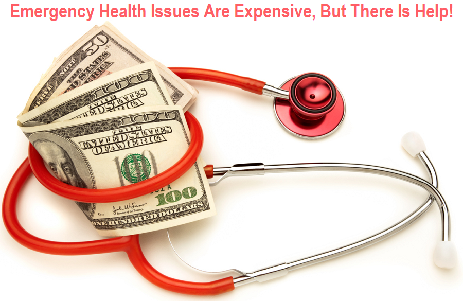 Emergency Health Issues Are Expensive, But There Is Help
