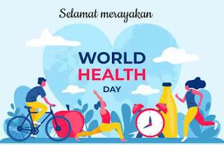gambar ucapan hari kesehatan dunia