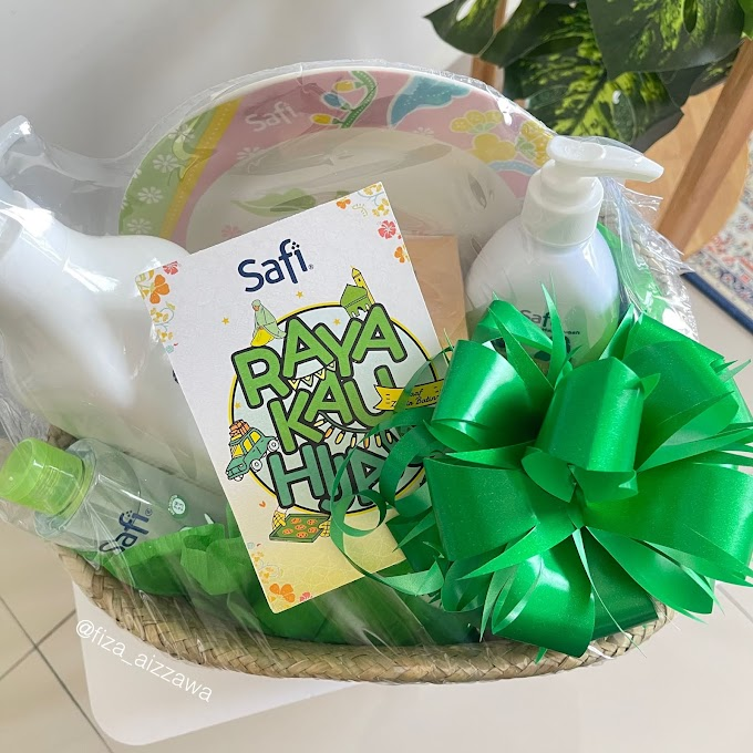 Dapatkan pinggan batik Safi edisi terhad, percuma sempena kempen Safi Raya Kau Hijau