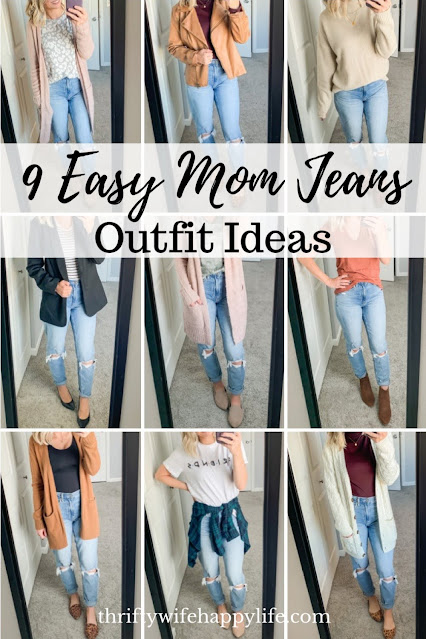 9 easy ways to style mom jeans