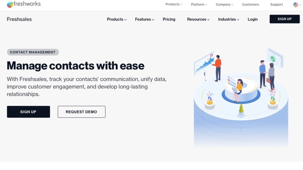 Freshsales: Key features and highlights