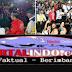 Bersama Masyarakat Lombok,Presiden RI Joko Widodo Saksikan Penutupan Asia Games 2018 Melalui Layar Televisi Di NTB