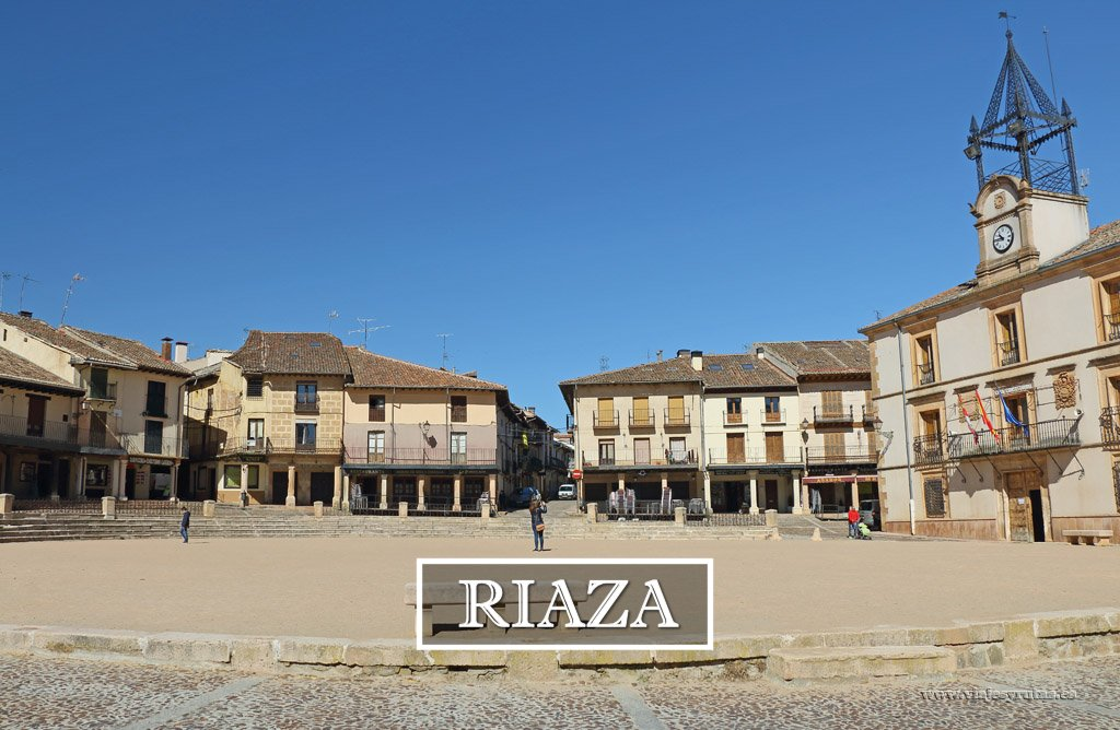Riaza y su peculiar Plaza Mayor, Segovia