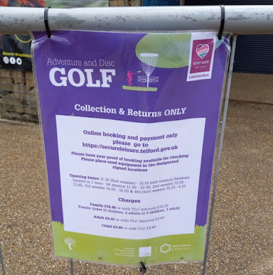Adventure Golf in Telford Town Park