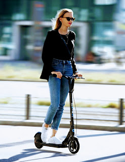The Environmentally Friendly E-Scooters Are A Real Alternative In City Traffic