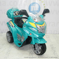 Motor Mainan Aki Yotta Toys Tornado Seri Meteor Green