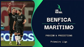 Benfica vs Maritimo Preview and Prediction 2021