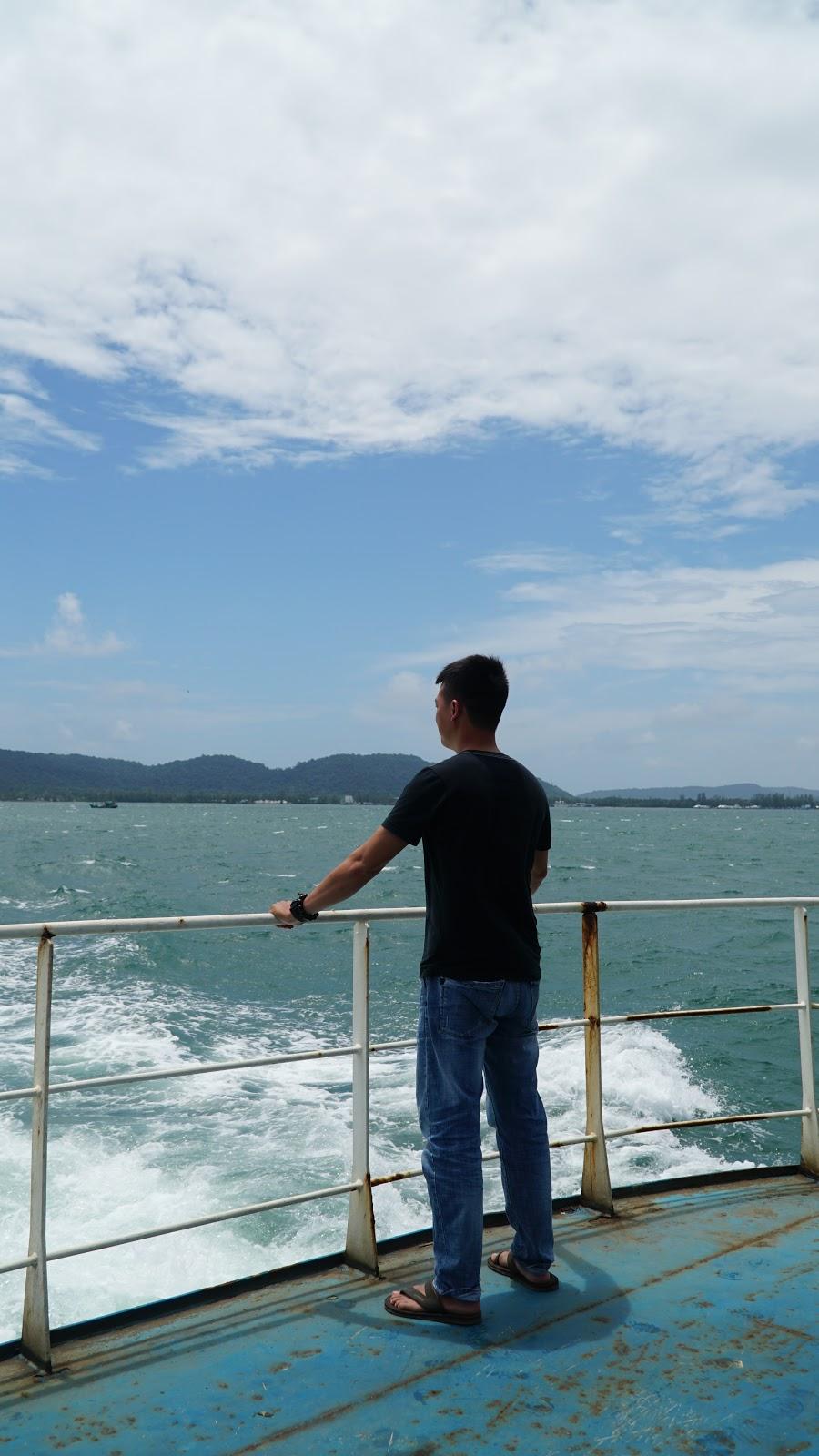 Được đi trên biển, đó là một trải nghiệm vô cùng đáng nhớ