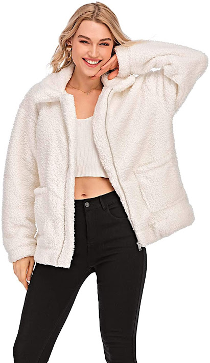 Best White Faux Fur Coats Jackets for Women
