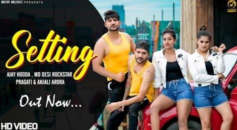 Setting Lyrics in Hindi, Ajay Hooda, MD Desi Rockstar, Haryanvi Song