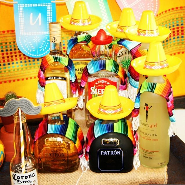 Mexican Themed Table Centerpiece Ideas
