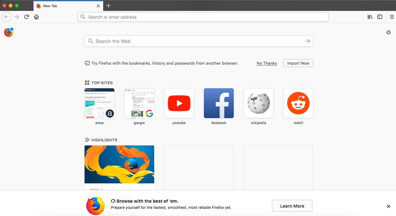 اسرع متصفح انترنت في العالم للتحميل للاندرويد وللكمبيوتر