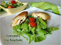 Φλογέρες με μπέικον και τυρί κρέμα - by https://syntages-faghtwn.blogspot.gr