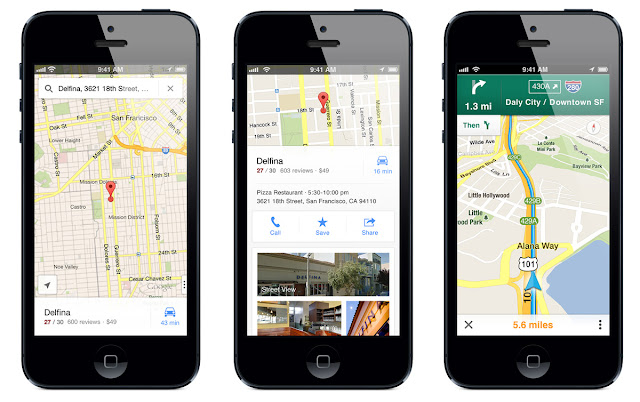 Google Maps with PitStop & 3D Touch Support for iOS (4.16)