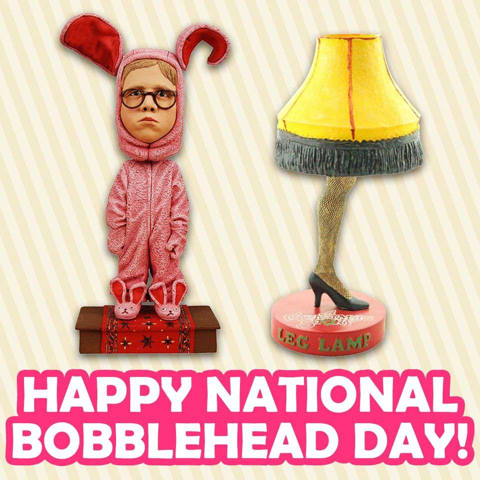 National Bobblehead Day Wishes For Facebook