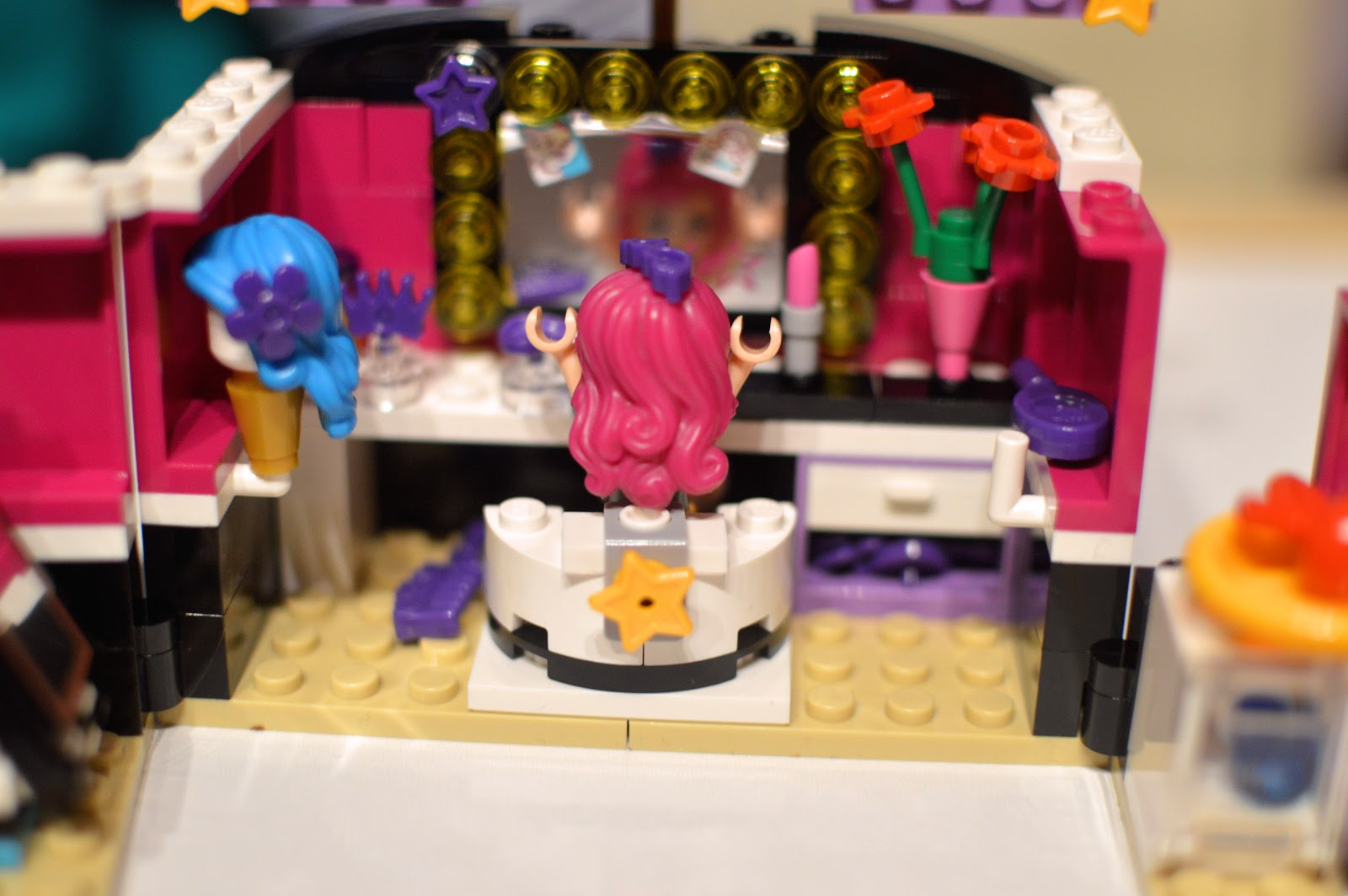 LEGO Friends Pop Star Dressing Room Review 41104 - Diary ...