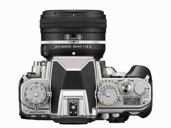 La calotta della Nikon Df