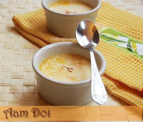 Mango Bhapa Doi, Aam Doi