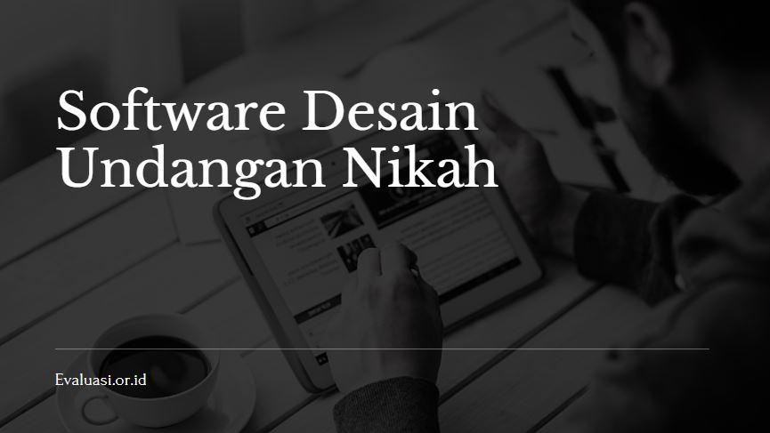 Software Desain Undangan Nikah