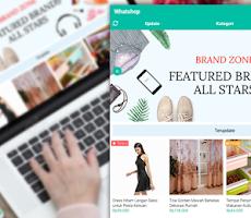 Contoh Laman Artikel - Whatshop Toko Online Store Blogger Template