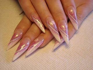 diseño de uñas peligrosas