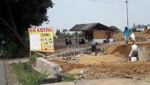 Diduga Tidak Mengantongi Izin,Camat Pacet Tegur Aktivitas Cut And Fill Di Desa Ciherang