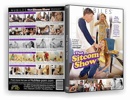 DVD That Sitcom Show xxx 2019 - ISO