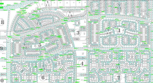 مشروع توزيع كهرباء مدينة سكنية | مشروع توزيع الممشي السياحي وفلل مدينة المنصورة الجديدة
