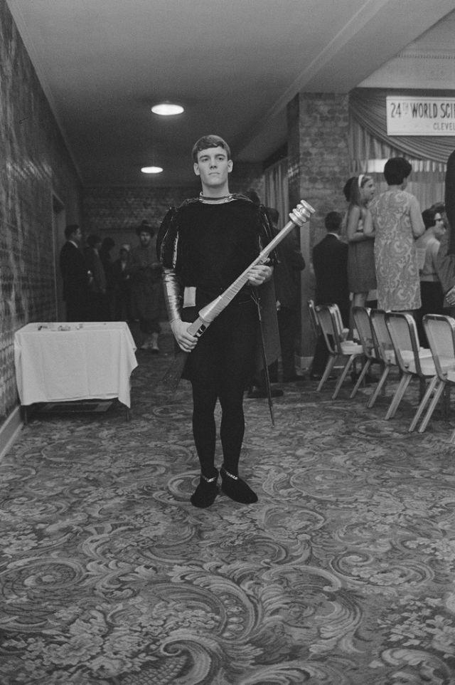Curiosos disfraces para la Convención Mundial de Ciencia Ficción en Cleveland de 1966