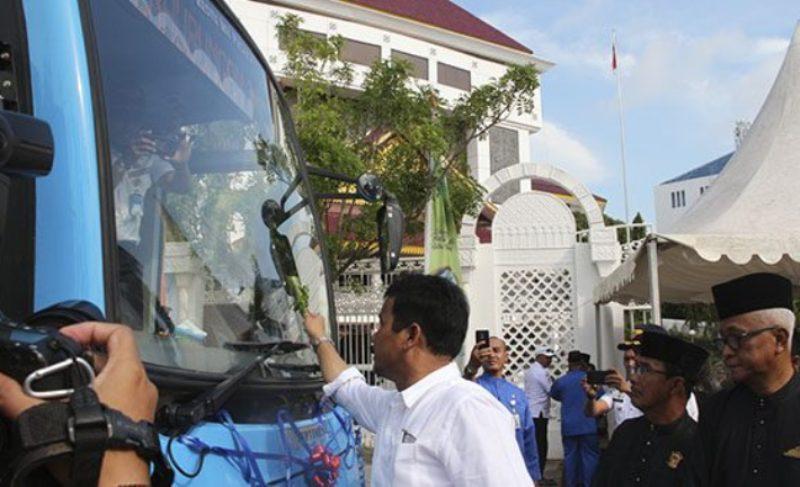 Pemko Batam Berupaya Kurangi Kendaraan Umum Tak Layak Jalan dengan Perbanyak Bus Trans Batam