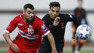 ملخص واهداف مباراة هولندا وجبل طارق (7-0) تصفيات كأس العالم