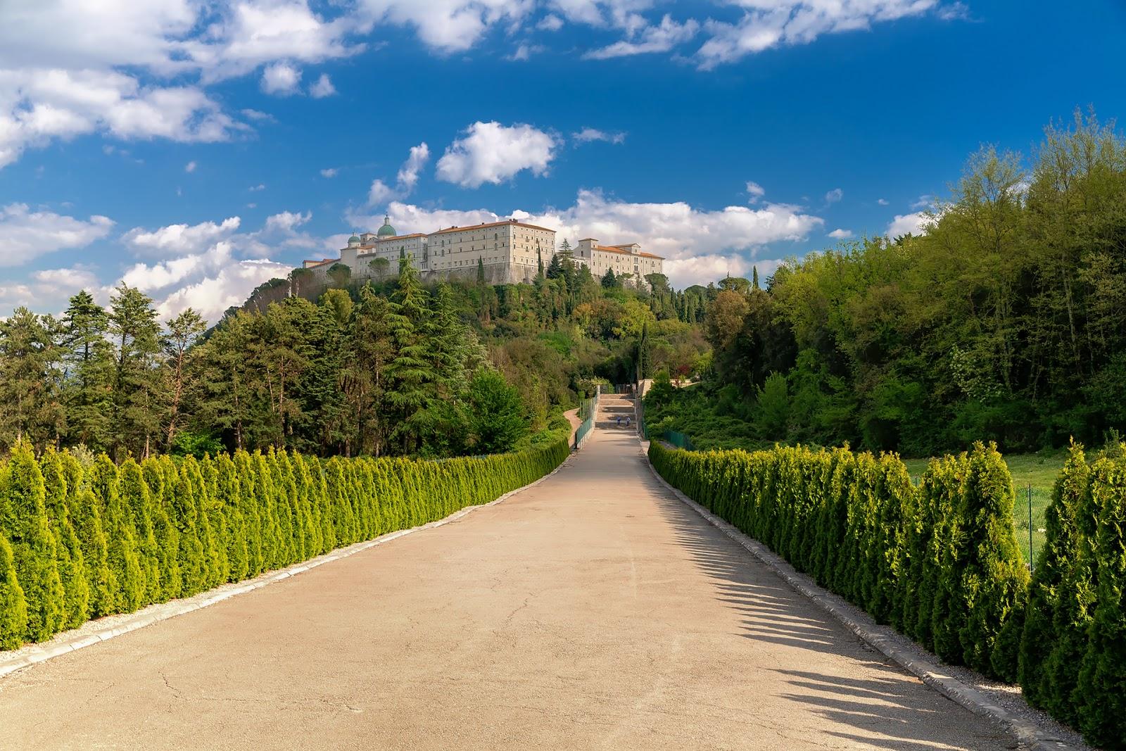 Włochy - Monte Cassino