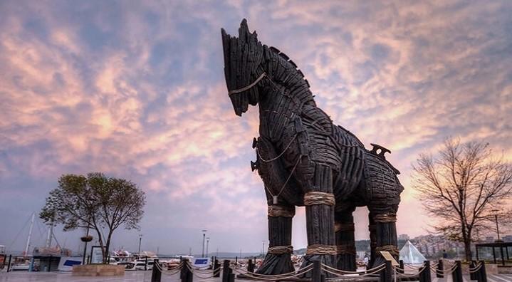 marmarada gezilecek yerler truva antik kenti