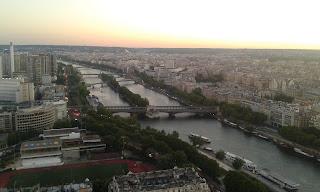 Fransa Paris Eyfel Kulesi'nden Manzara