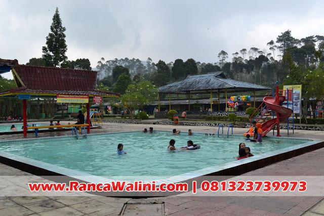Kolam Air Panas Walini Terbersih di Ciwidey Bandung