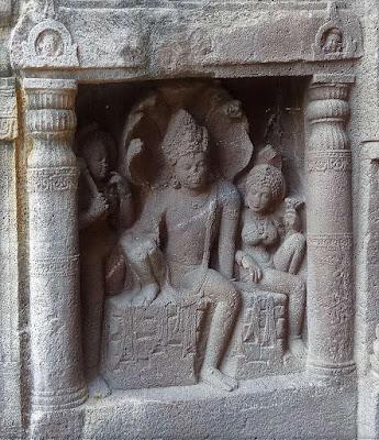 Nagaraja Ajanta Cave 19
