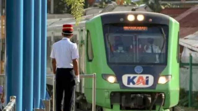 Tak Beroperasi 44 Tahun, Stasiun Kereta Api Pulau Air Padang Aktif Lagi